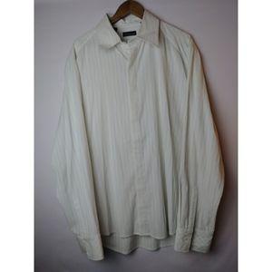 7 Diamonds Men's Size 3XL LS Button Front Shirt